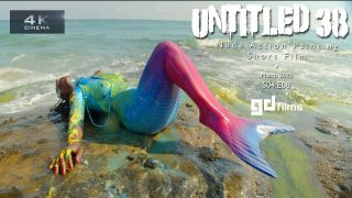S4:E8 Abstract Art Action Body Painting 'Untitled No.38' Mermaid • GD Fi…