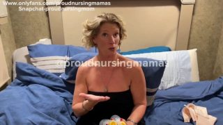 How to use a breast pump (slips start at :37 sec and throughout )